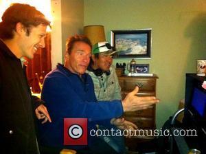 Schwarzenegger's Son Poses As Conan For Halloween