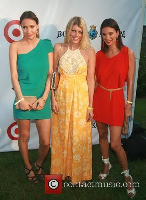 Sasha Volkova, Meredith Ostrom and Angele Blankenstein  Russell Simmons' 12th Annual Art For Life East Hampton Benefit  New...