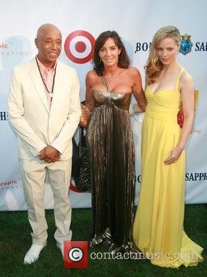 Russell Simmons, Camilla Olsson and Melissa George  Russell Simmons' 12th Annual Art For Life East Hampton Benefit  New...