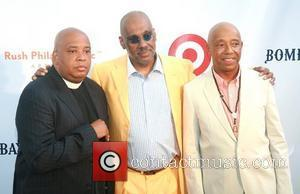 Joseph Simmons, Danny Simmons and Russell Simmons  Russell Simmons' 12th Annual Art For Life East Hampton Benefit  New...
