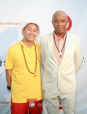Kevin Leong and Russell Simmons Russell Simmons' 12th Annual Art For Life East Hampton Benefit  New York City, USA...
