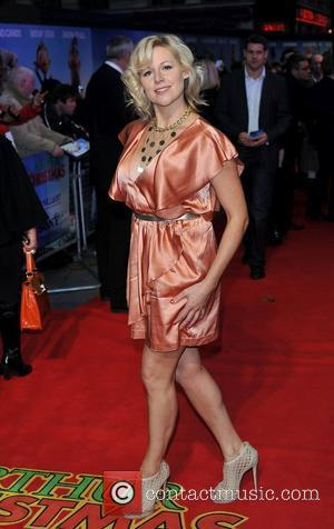 Abi Titmuss 'Arthur Christmas' UK premiere held at the Empire Leicester Square - Arrivals. London, England - 06.11.11