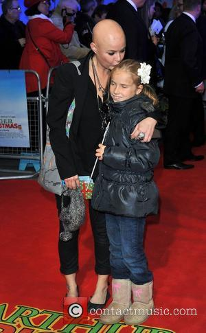 Gail Porter 'Arthur Christmas' UK premiere held at the Empire Leicester Square - Arrivals. London, England - 06.11.11