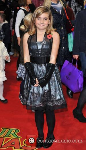 Ramona Marquez 'Arthur Christmas' UK premiere held at the Empire Leicester Square - Arrivals. London, England - 06.11.11