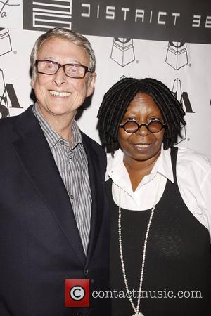 Mike Nichols and Whoopi Goldberg