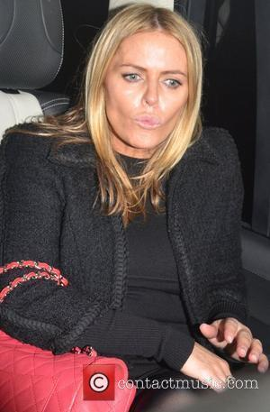 Patsy Kensit leaving the The Arts Club Mayfair London, England - 08.11.11