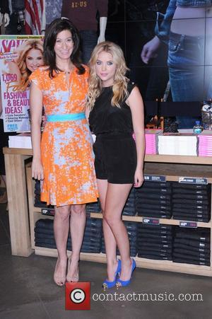 September Cover Model and 'Pretty Little Liars' Star Ashley Benson attends a Seventeen Magazine Back To School Fashion Event held...