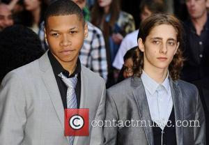 Cast  at the UK premiere of 'Attack The Block' at Vue West End. London, England - 04.05.11