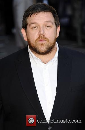Nick Frost  at the UK premiere of 'Attack The Block' at Vue West End. London, England - 04.05.11