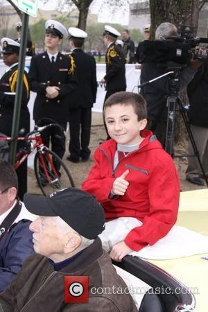 Actor Atticus Shaffer from 'The Middle' is this year's Grand Marshall at the 2011 Cherry Blossom Parade Washington D.C., USA...