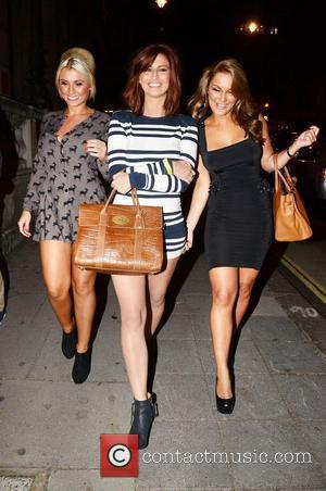 Sam Faiers and Aura Nightclub