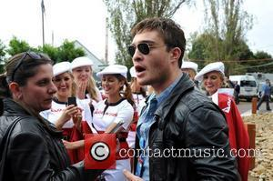 British actor, Ed Westwick, star of the US TV show Gossip Girl is attending the 2011 Formula 1 Qantas Australian...