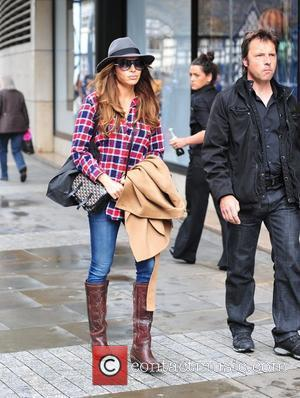 Ayda Field seen out shopping in Manchester Manchester, England - 08.06.11