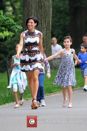 Jessica Seinfeld and daughter Sascha Seinfeld Baby Buggy Bedtime Bash held at Central Park - Outside Arrivals New York City,...
