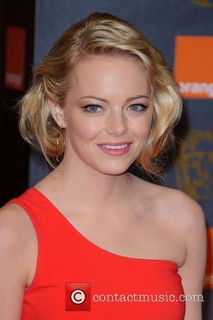 Emma Stone Orange British Academy Film Awards (BAFTAs) held at the Royal Opera House - Arrivals  London, England -...