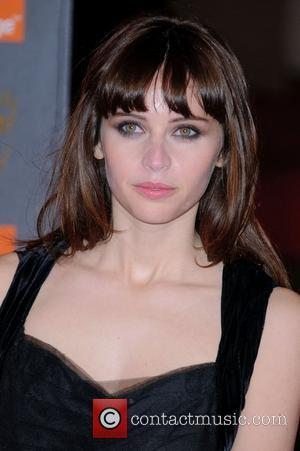 Felicity Jones Orange British Academy Film Awards (BAFTAs) held at the Royal Opera House - Arrivals  London, England -...