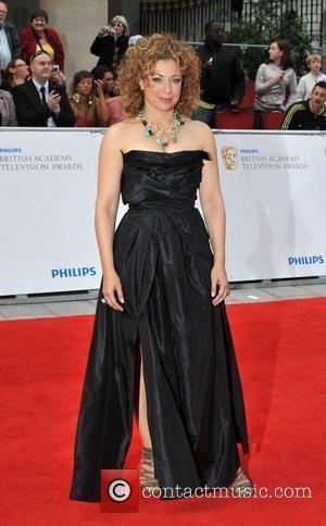 Alex Kingston Philips British Academy Television Awards in 2011 held at the Grosvenor House - Arrivals. London, England - 22.05.11