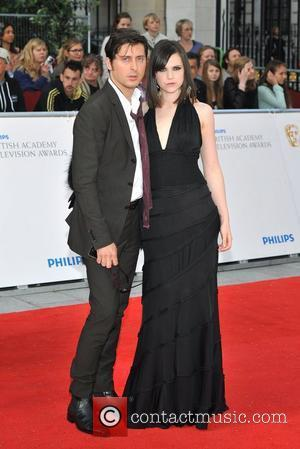 Carl Barat and Edie Langley Philips British Academy Television Awards in 2011 held at the Grosvenor House - Arrivals. London,...
