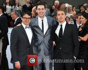 Simon Bird, Blake Harrison and Joe Thomas Philips British Academy Television Awards in 2011 held at the Grosvenor House -...