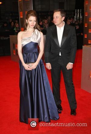 Elon Musk and Talulah Riley Orange British Academy Film Awards (BAFTAs) held at the Royal Opera House - Arrivals London,...