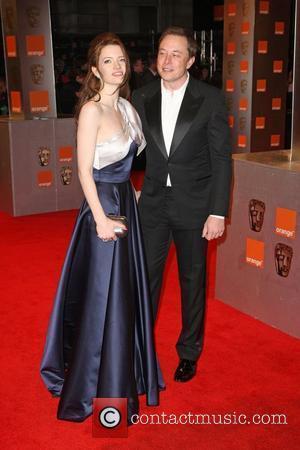 Elon Musk and Talulah Riley Orange British Academy Film Awards (BAFTAs) held at the Royal Opera House - Arrivals London,...
