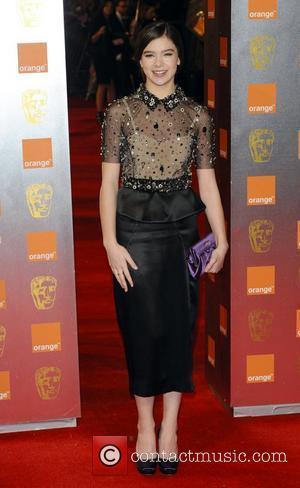 Hailee Steinfeld Orange British Academy Film Awards (BAFTAs) held at the Royal Opera House - Arrivals. London, England - 13.02.11