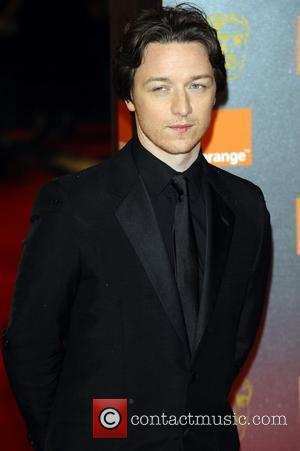 James McAvoy Orange British Academy Film Awards (BAFTAs) held at the Royal Opera House - Arrivals. London, England - 13.02.11