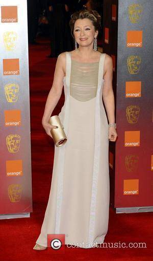 Lesley Manville  Orange British Academy Film Awards (BAFTAs) held at the Royal Opera House - Arrivals. London, England -...