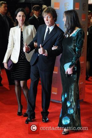 Mary McCartney, Sir Paul McCartney, Nancy Shevell Orange British Academy Film Awards (BAFTAs) held at the Royal Opera House -...