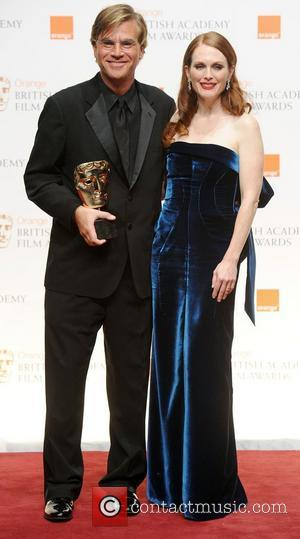 Aaron Sorkin and Julianne Moore
