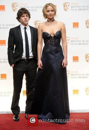 Jesse Eisenberg and Jennifer Lawrence