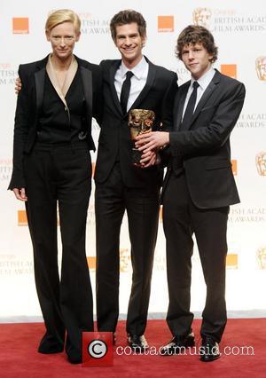 Tilda Swinton, Andrew Garfield and Jesse Eisenberg