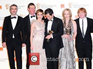 David Heyman, David Hayman, Emma Watson, Jk Rowling and Rupert Grint