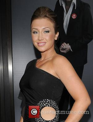 The Only Way is Essex Star Lauren Goodger arriving at the BAFTA TV awards nominees party. She looked liked she...