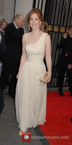 Amy Nuttall  Philips British Academy Television Awards in 2011 held at the Grosvenor House - Outside Arrivals London, England...