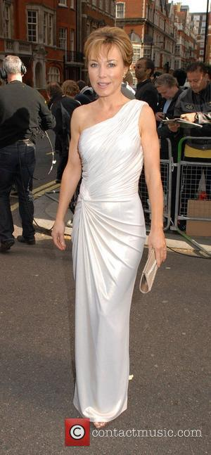 Sian Williams  Philips British Academy Television Awards in 2011 held at the Grosvenor House - Outside Arrivals London, England...