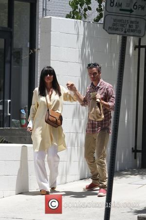 Balthazar Getty and his wife Rosetta Millington are seen getting food to go at Chipotle Los Angeles, California - 03.06.11