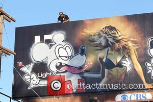 Banksy, Billboard and City High