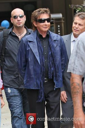 Barry Manilow arriving at The Grove for the entertainment television news programme 'Extra' Los Angeles, California - 09.06.11