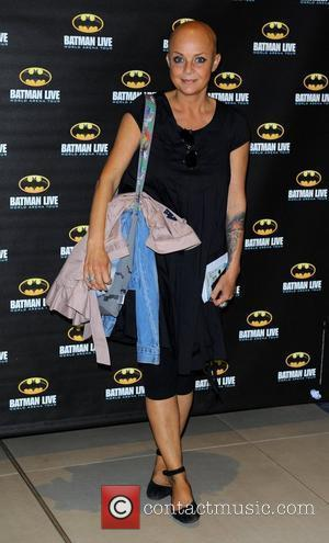Gail Porter attending the Batman Live gala performance at the o2 Arena, London, England - 24.08.11