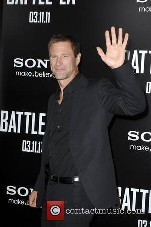 Aaron Eckhart  Battle: Los Angeles Los Angeles Premiere held At Regency Village Theatre Westwood, California - 08.03.11