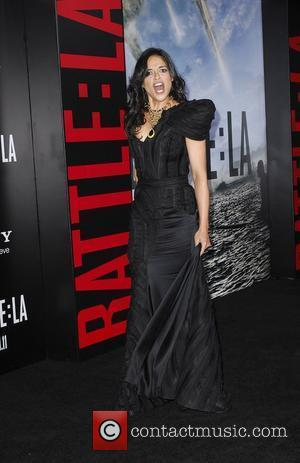 Michelle Rodriguez  Battle: Los Angeles Los Angeles Premiere held At Regency Village Theatre Westwood, California - 08.03.11