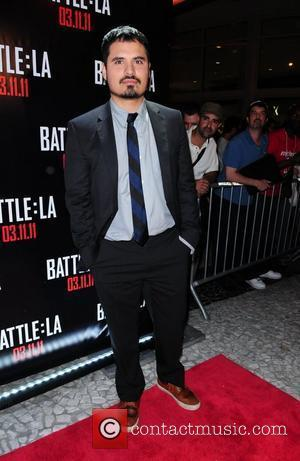 Michael Pena Red carpet screening of 'Battle: Los Angeles' at Regal South Beach Miami Beach Florida - 07.03.11