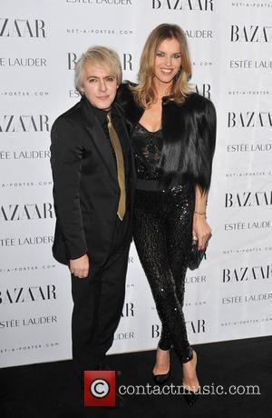 Nick Rhodes and Eva Herzigova Harper's Bazaar Women of the Year Awards held at Claridge's London, England - 07.11.11
