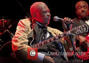 Blues legend, BB King, performing at Manchester O2 Apollo  Manchester, England - 25.06.11
