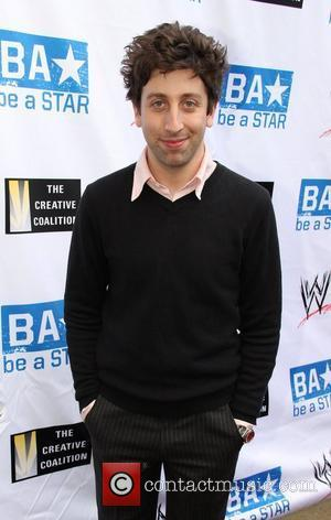 Simon Helberg Anti-Bullying Alliance 'Be A Star' launched by The Creative Coalition, A-List celebs and WWE at The Washington Club...
