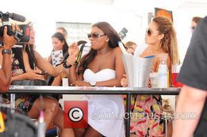 VH1 Basketball Wives cast Jennifer Williams and Evelyn Lozada  AMG Beach Polo World Cup - Day 3 Miami Beach,...