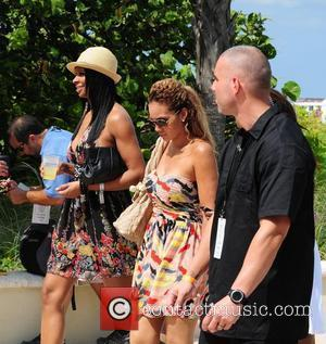 VH1 Basketball Wives cast members Jennifer Williams and Evelyn Lozada  AMG Beach Polo World Cup - Day 3 Miami...