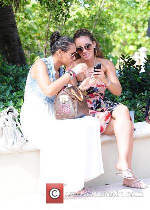 VH1 Basketball Wives Evelyn Lozada and daughter Shaniece Lozada  AMG Beach Polo World Cup - Day 3 Miami Beach,...