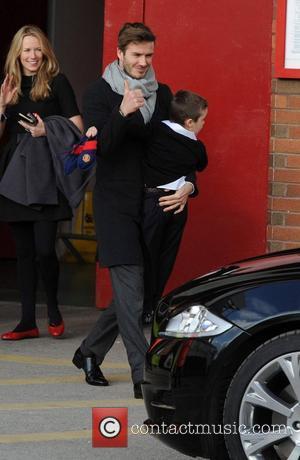 David Beckham and Manchester United
